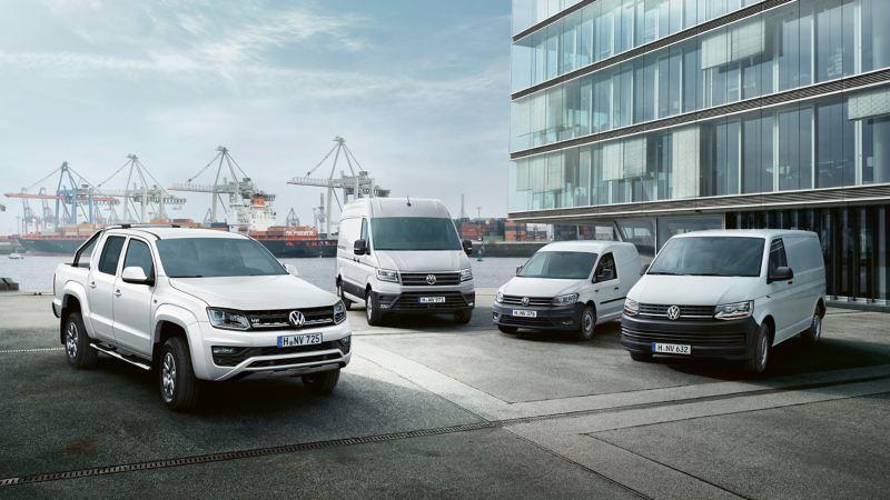 Volkswagenin hyötyautomallisto: Transporter, Amarok, Caddy ja Crafter