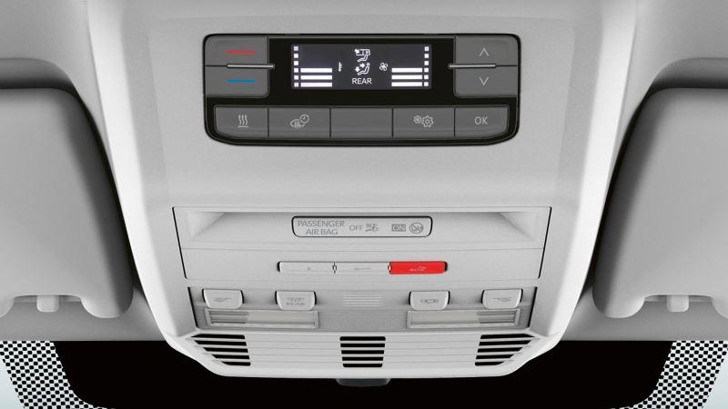 vw Volkswagen Multivan 6.1 Highline 7-seter familiebil minivan maxitaxi persontransport komforttak