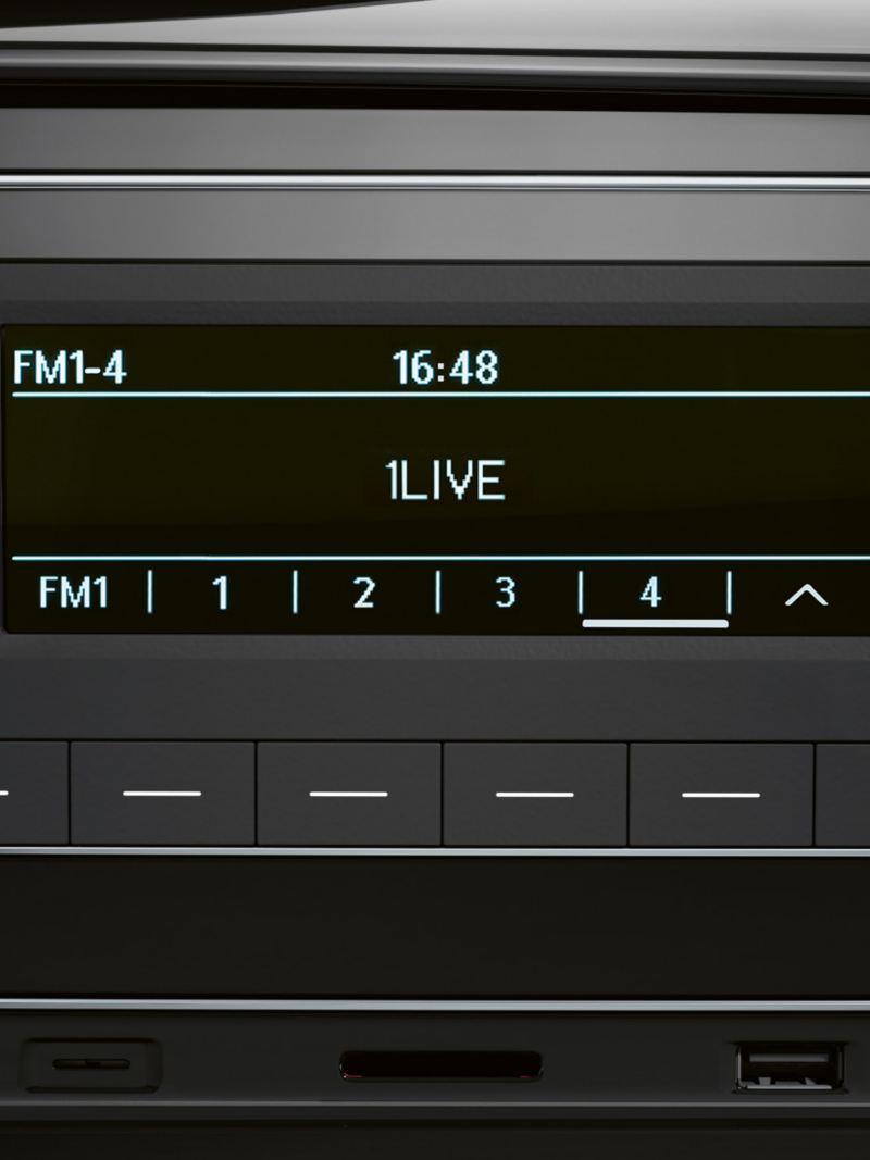 Composition Audio i en VW Transporter 6.1