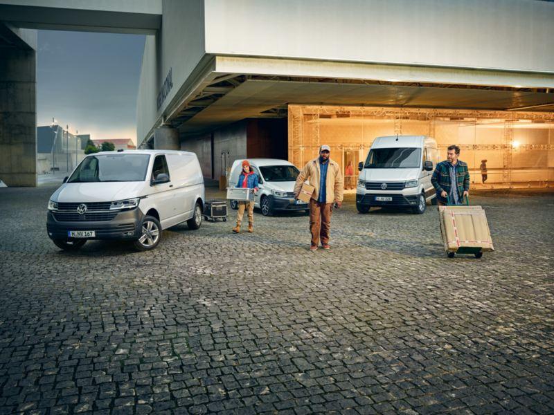 gama de vehiculos comerciales volkswagen