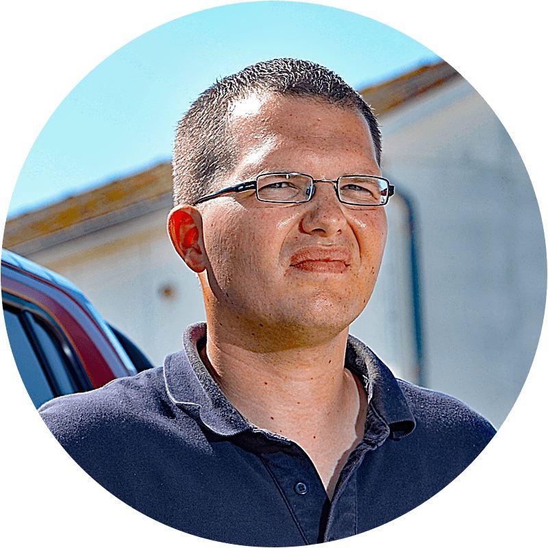 Nils Stauch, teknisk driftschef i St. Peter-Ordingavdelningen i den tyska livräddningsföreningen (DLRG)