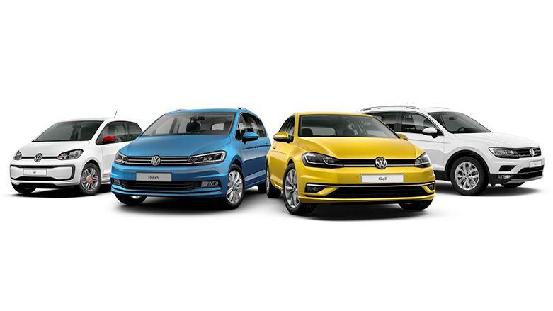 Alle Volkswagen modellen