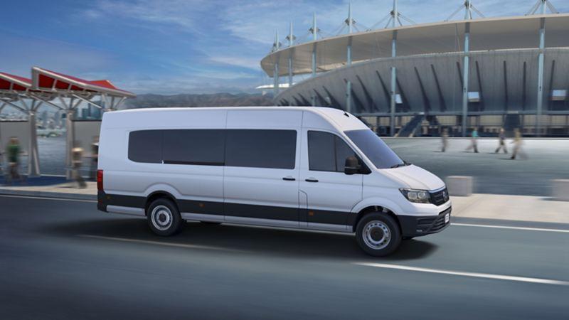 Camioneta para transporte de pasajeros Crafter 4.9t