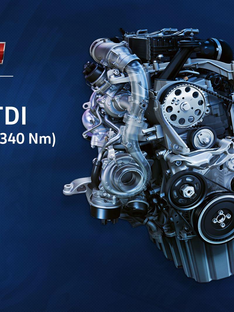 Motor TDI Nuevo Crafter 4.9t.