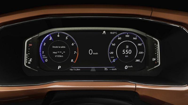 Digital Cockpit en SUV Nuevo T-Cross 2020 de Volkswagen