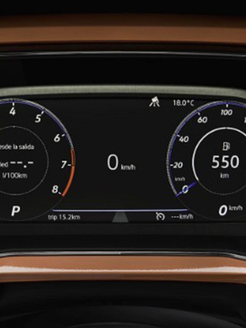 Digital Cockpit en SUV T-Cross 2020 de Volkswagen