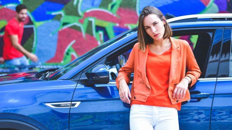 Nuevo T-Cross de Volkswagen el SUV con diseño tecnológico y vanguardista en tono azul nórdico