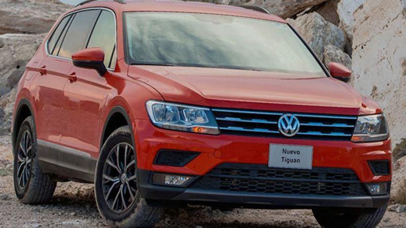 Camioneta SUV Tiguan de Volkswagen equipada con el mejor sistema de seguridad