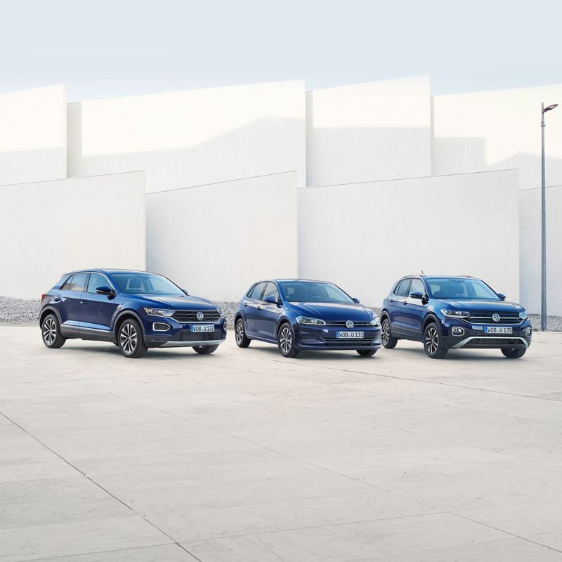Volkswagen UNITED range T-Cross, T-Roc and Polo