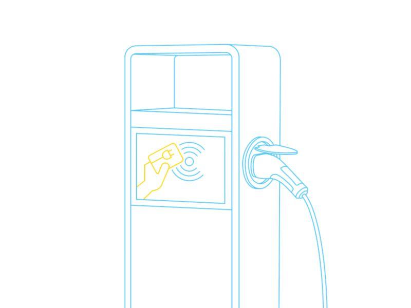 Stacje ładowania umożliwiają płatność kartą