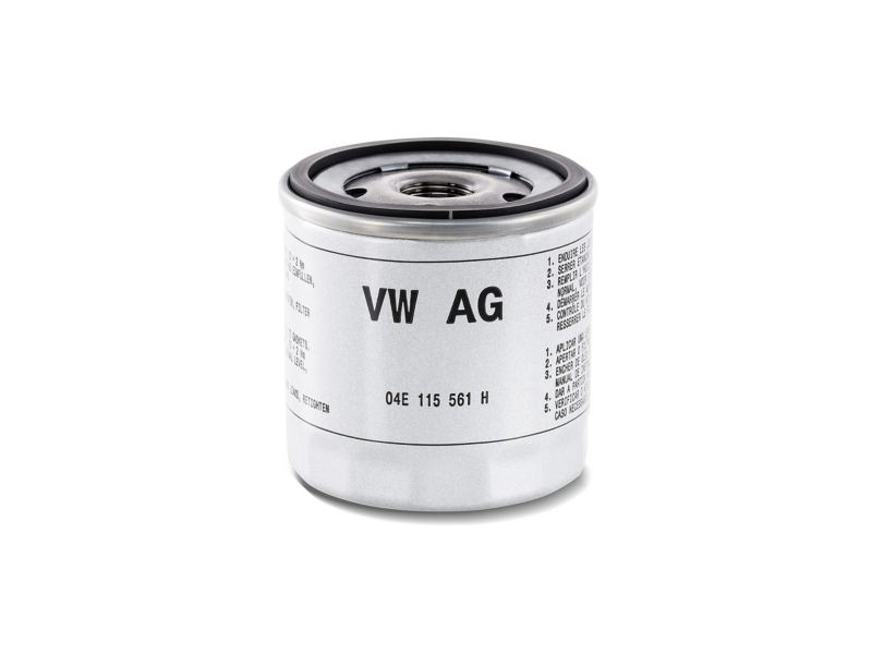Image of a genuine oil filter