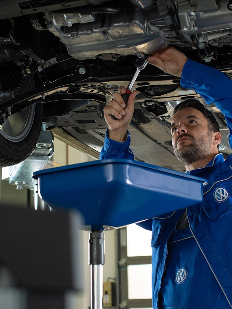 Annual service on your Volkswagen