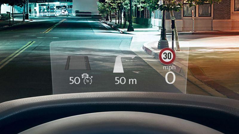 A screenshot of the satnav update in a Volkswagen