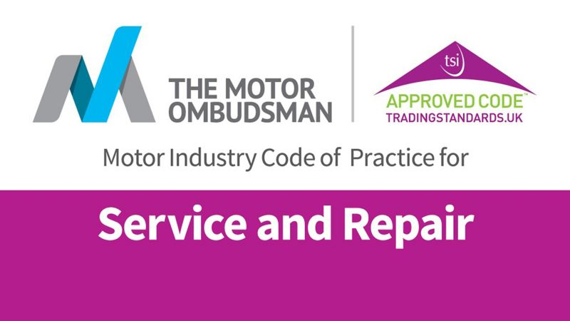Service and repair motor industry code of practice