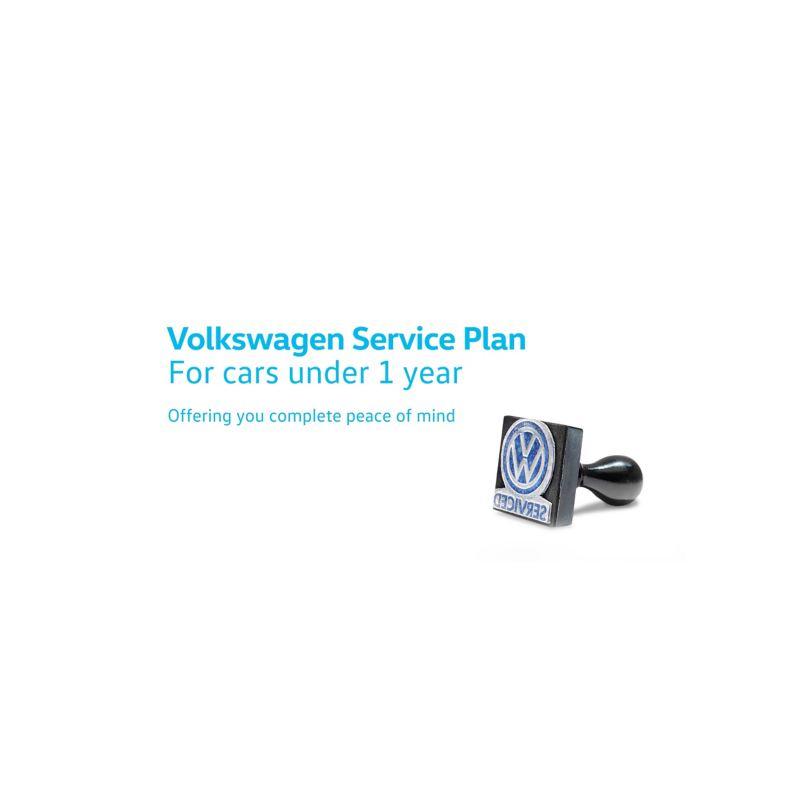 Volkswagen Service Plan: For cars under 1 year