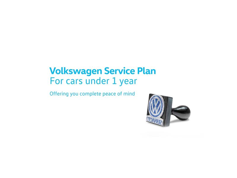 Volkswagen Service Plan: For cars under 1 year