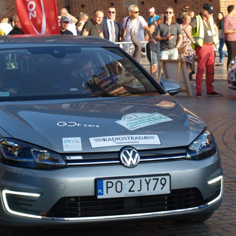 e-Golf wygrywa 2. Rajd Polski Nowych Energii