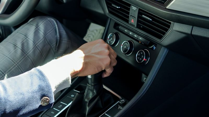 Pantalla con visión a la cámara de reversa presente en los automóviles Volkswagen