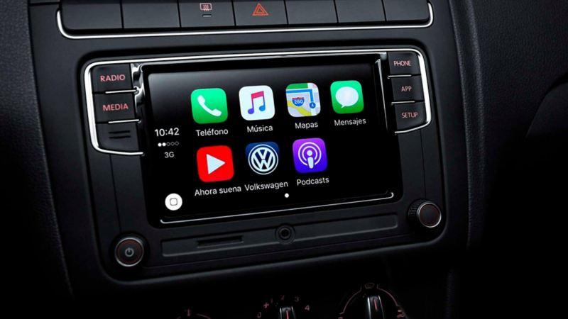 Pantalla táctilde 8 pulgadas de Nuevo Polo 2020 de Volkswagen