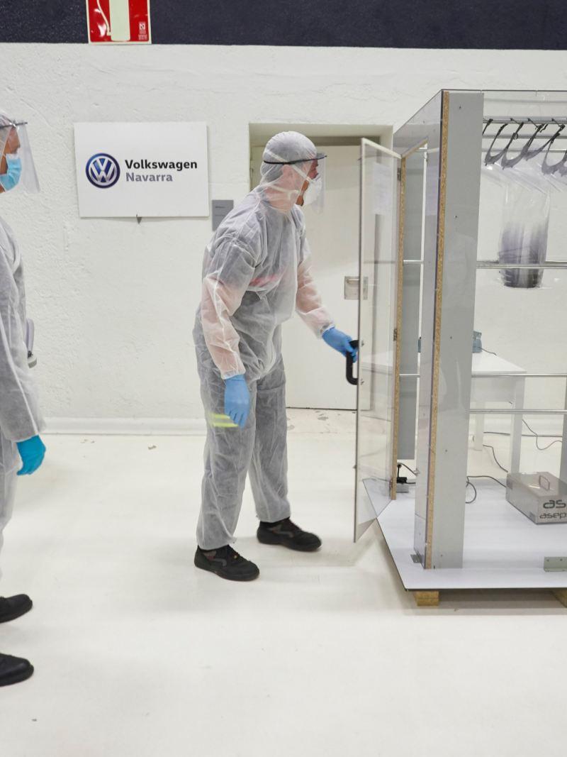 Volkswagen dona un millón de euros refugiados coronavirus