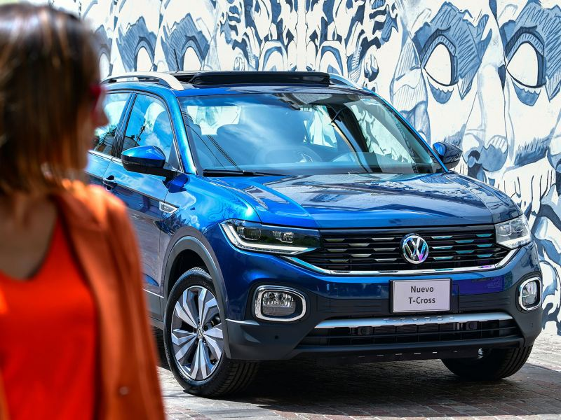Parrilla cromada Nuevo T-Cross Volkswagen