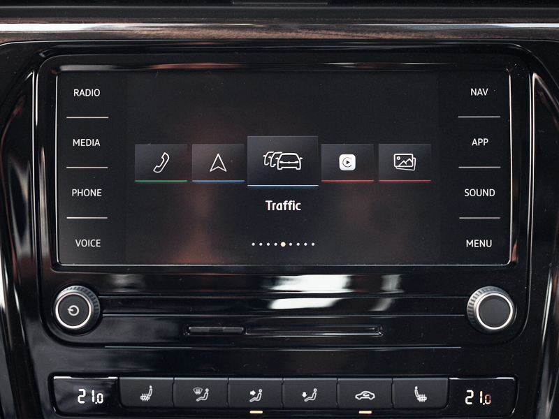 The new composition media system in the 2020 Volkswagen Passat