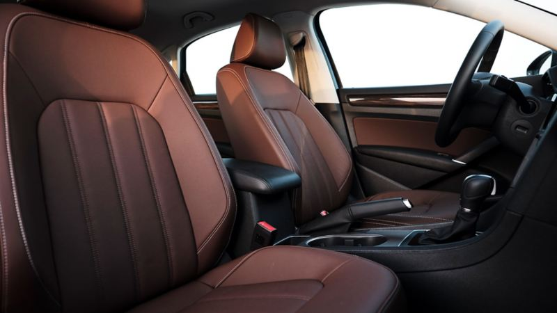 VW Passat interior seats