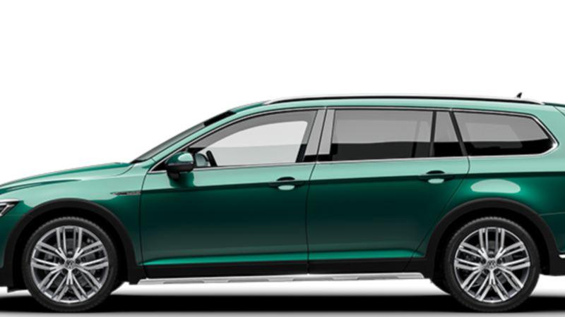 Volkswagen Passat Alltrack firehjulstrekk