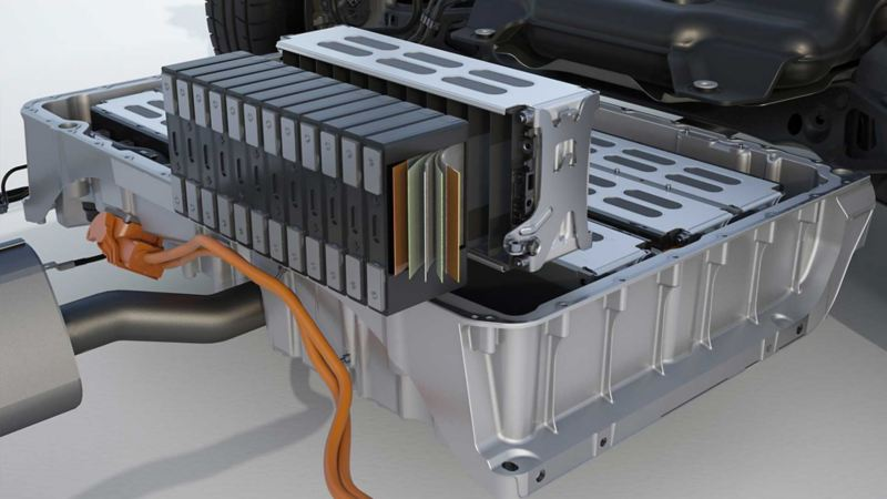 Volkswagen Passat GTE 2019 batteri