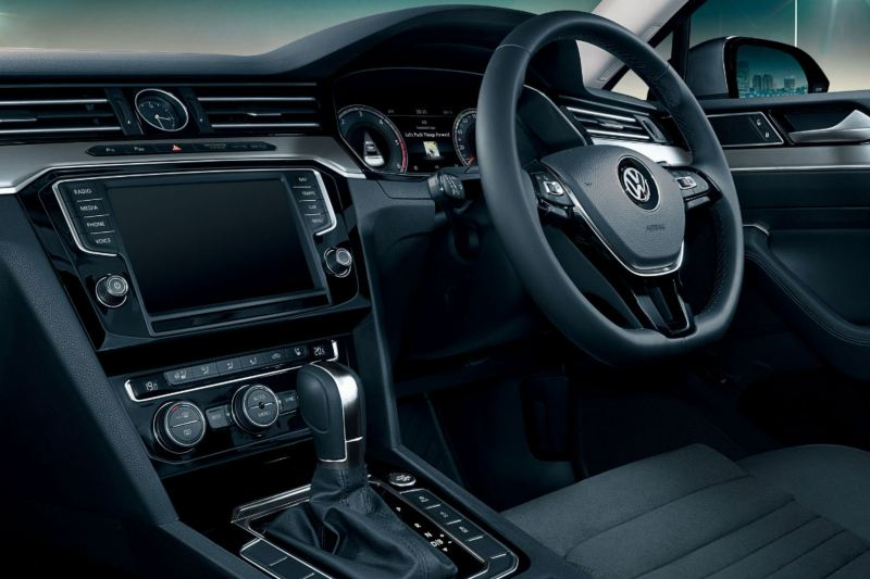 interior of passat