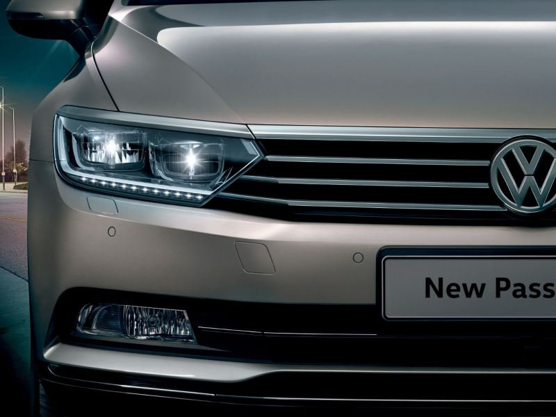 passat led headlights