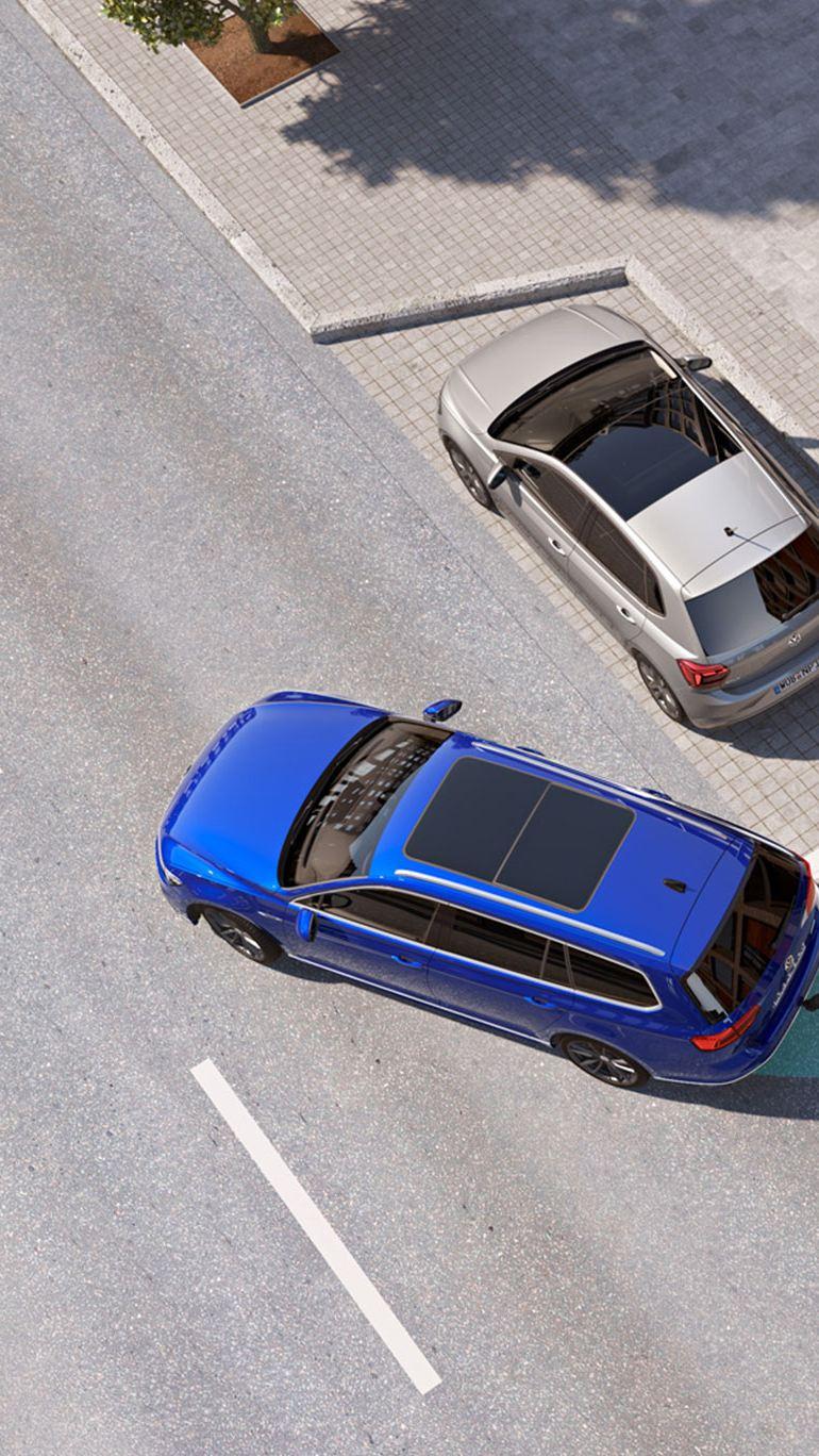 Volkswagens assistentsystemer trailer assist