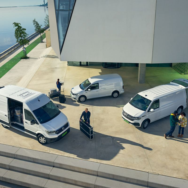 Elektryczne modele samochodów dostawczych Volkswagen