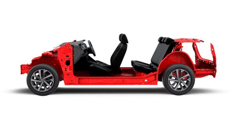 Plataforma MQB en Nuevo Virtus de Volkswagen