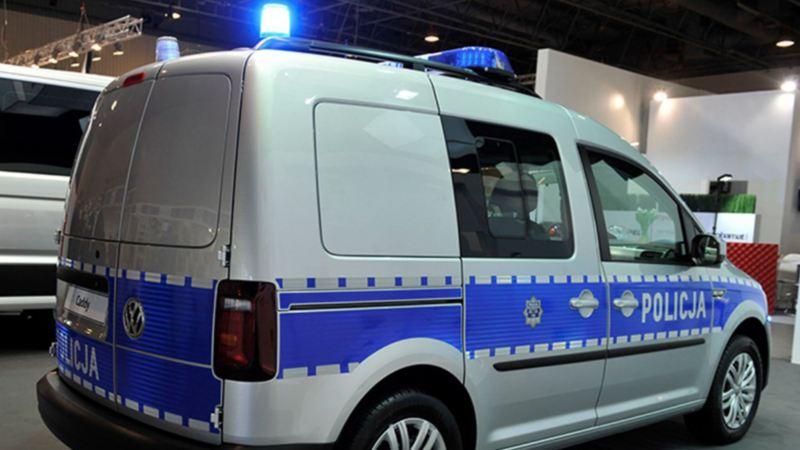 Caddy w zabudowie policyjnej