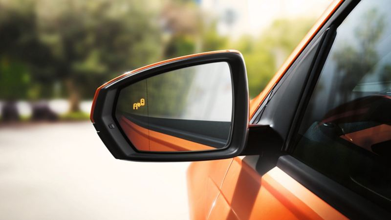 polo blind spot detection