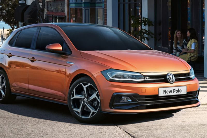 polo r-line on the streets