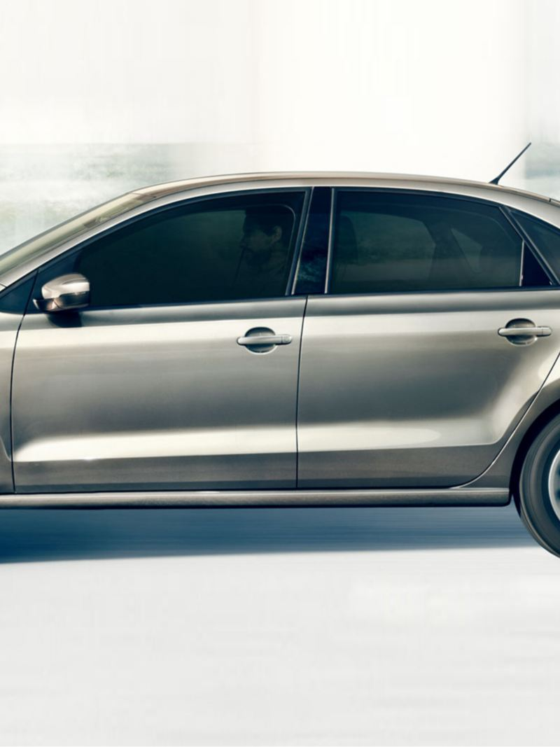 polo sedan side view