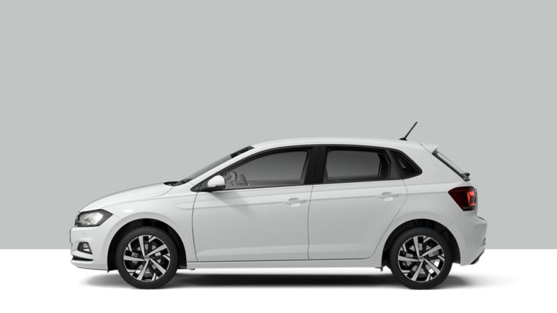 Volkswagen city car Polo laterale versione Highline