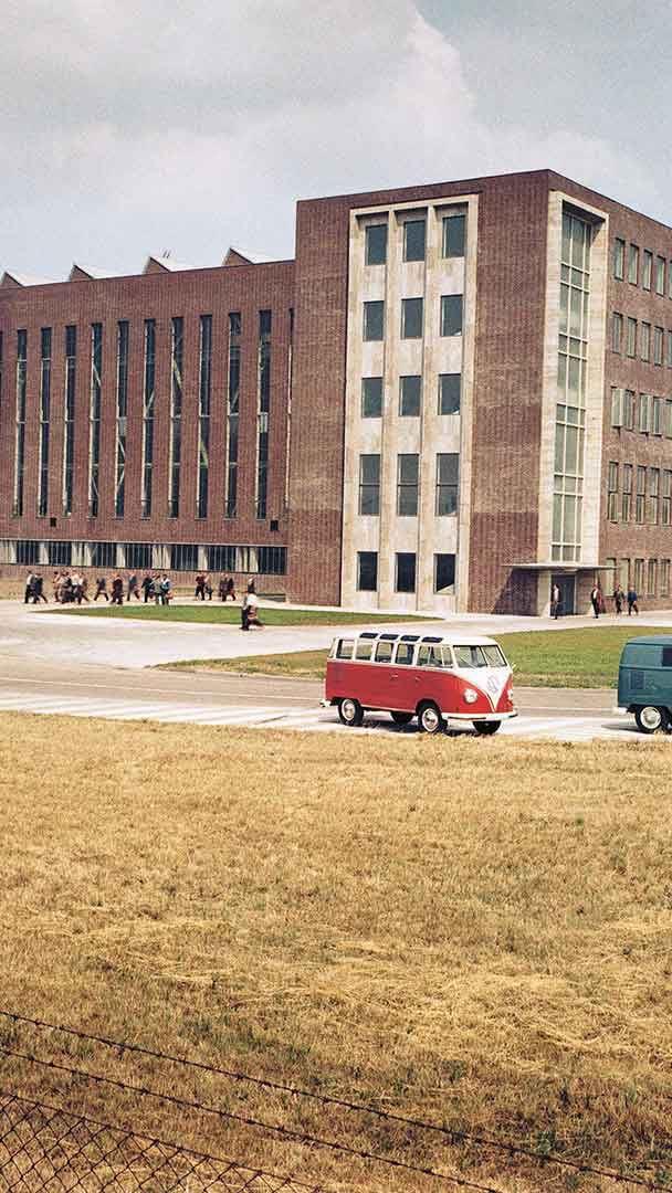 Volkswagenfabrik i Stöcken utanför Hannover.