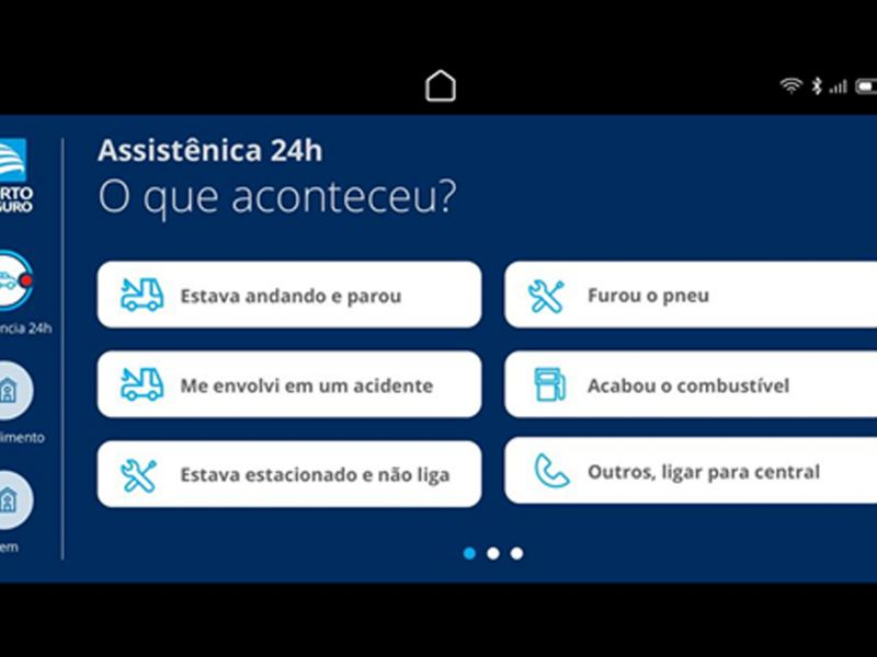 Integração com aplicativo Porto Seguro