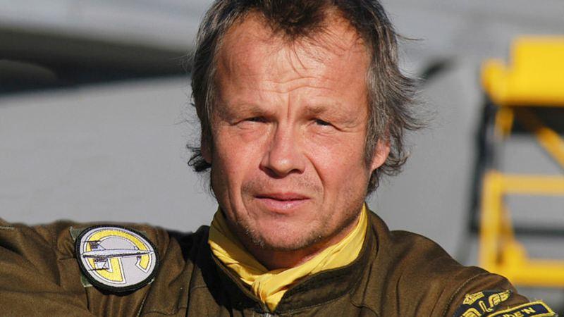 Peter Lindén stridspilot Viggen