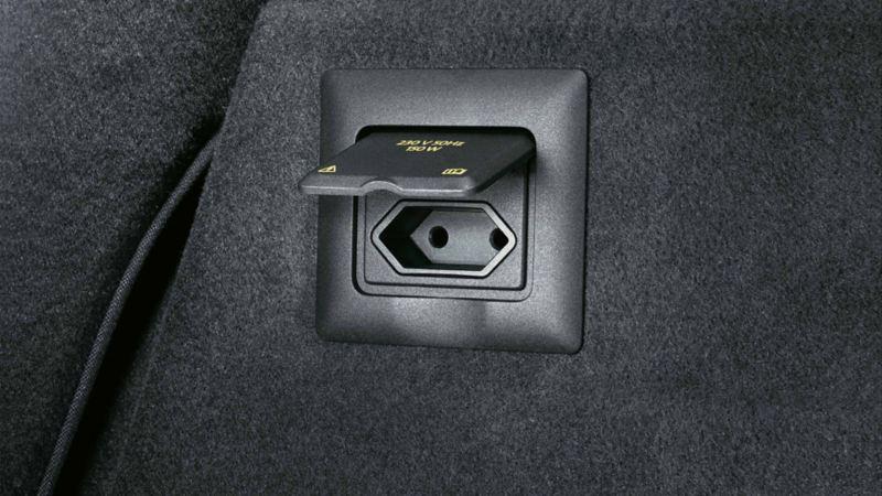 Visualizzazione di una presa su una VW Touareg