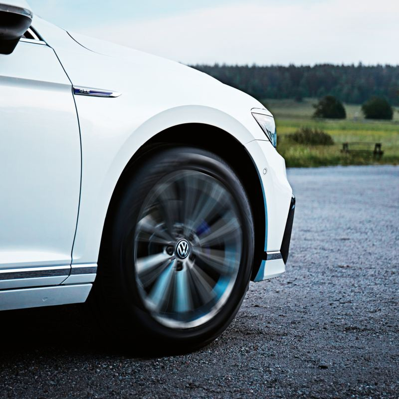 Volkswagen Orginal Dynamiska Navkapslar