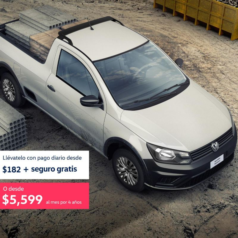Saveiro 2021 Volkswagen - Promoción de marzo