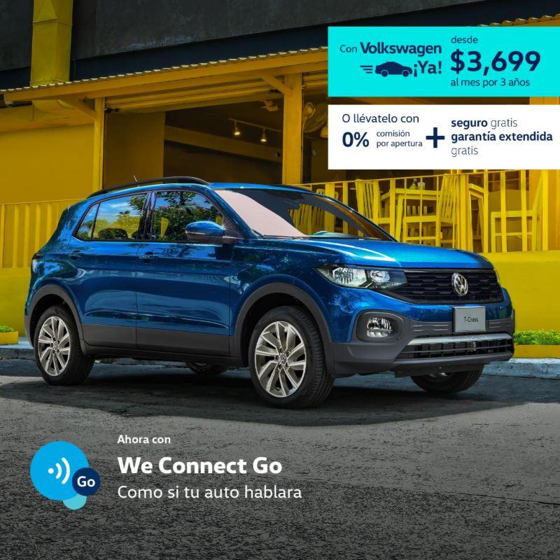 T-Cross 2021 Volkswagen - Promoción de marzo