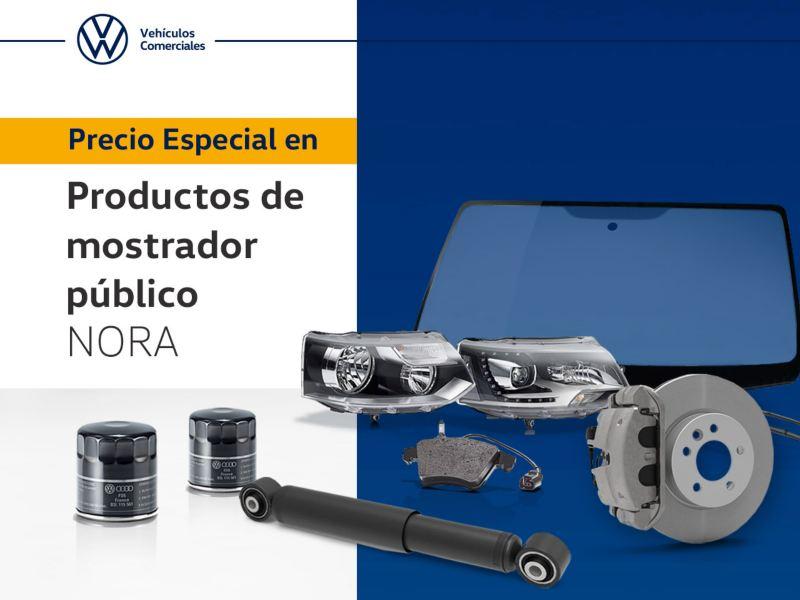 Promoción en productos de mostrador público Volkswagen