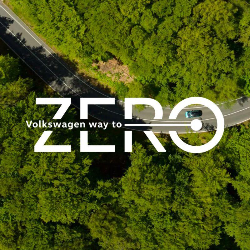 Volkswagen VW way to ZERO kampanje