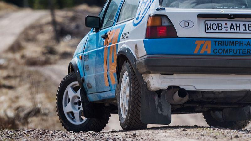 Rejäla däck för rally