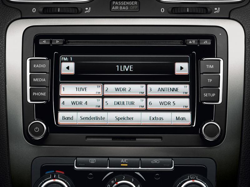 VW Radio Estéreo de desbloqueo de códigos PIN RCD 510 310 300 200 210 215